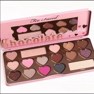 too faced chocolate bon bons eye palette